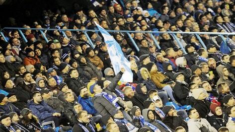 Воронежский «Факел» стал самой посещаемой командой в ФНЛ в первом круге