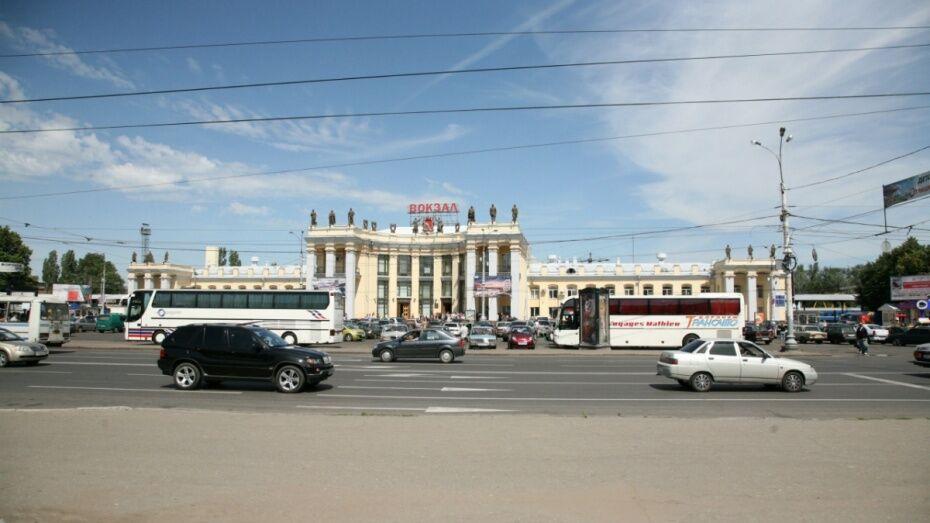 В Воронеже перекроют движение у железнодорожного вокзала 22 июня