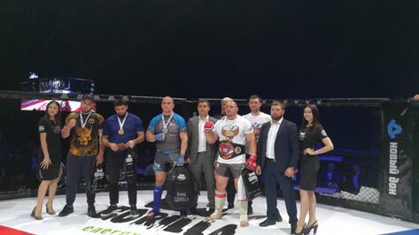Воронежские бойцы завоевали 18 медалей всероссийских соревнований по ММА