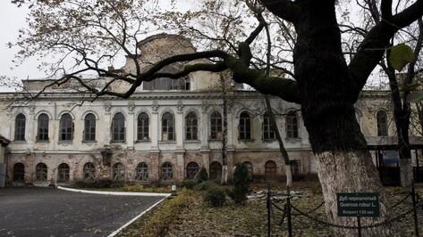 На реставрацию дома Вигеля в Воронеже направят до 318 млн рублей