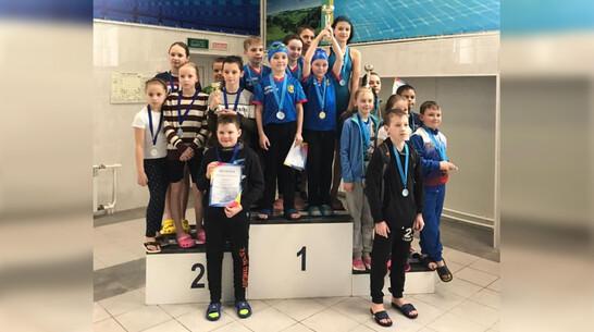 Юные рамонские пловцы завоевали 7 золотых медалей на открытом первенстве района