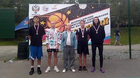 Рамонские баскетболисты завоевали «серебро» на Всероссийских соревнованиях по стритболу