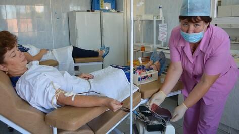 В Россоши прошла благотворительная акция доноров крови