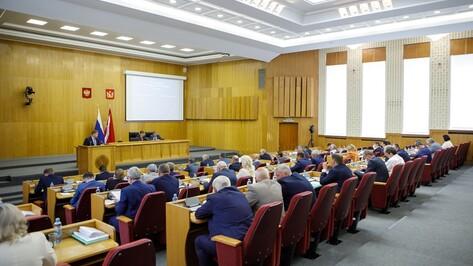 В Воронежской области депутатам выделили время для законотворчества и работы в округах