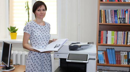 Издательский центр откроют в Лискинской районной библиотеке