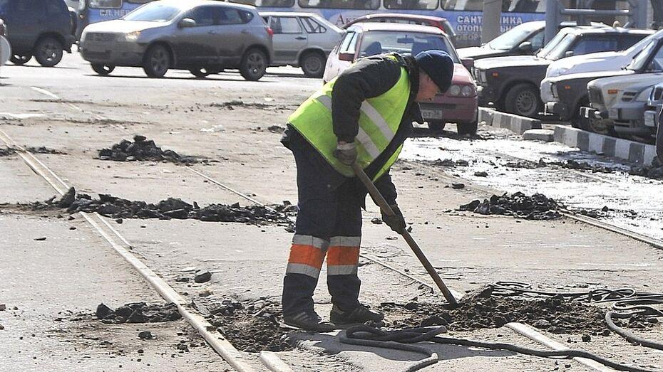В Воронеже исчезнут рельсы на улице Беговая