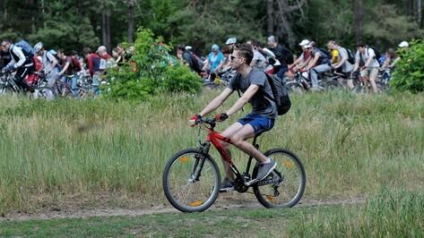 Первый в этом году велопробег по Большой воронежской экотропе собрал около 300 участников