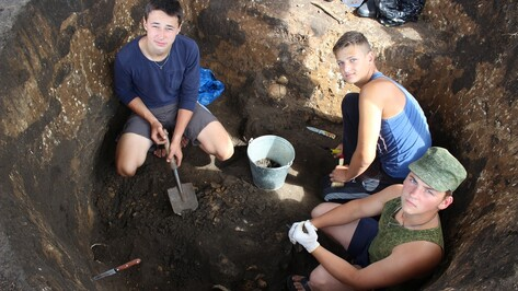В Таловском районе юные археологи нашли погребение бронзовое века
