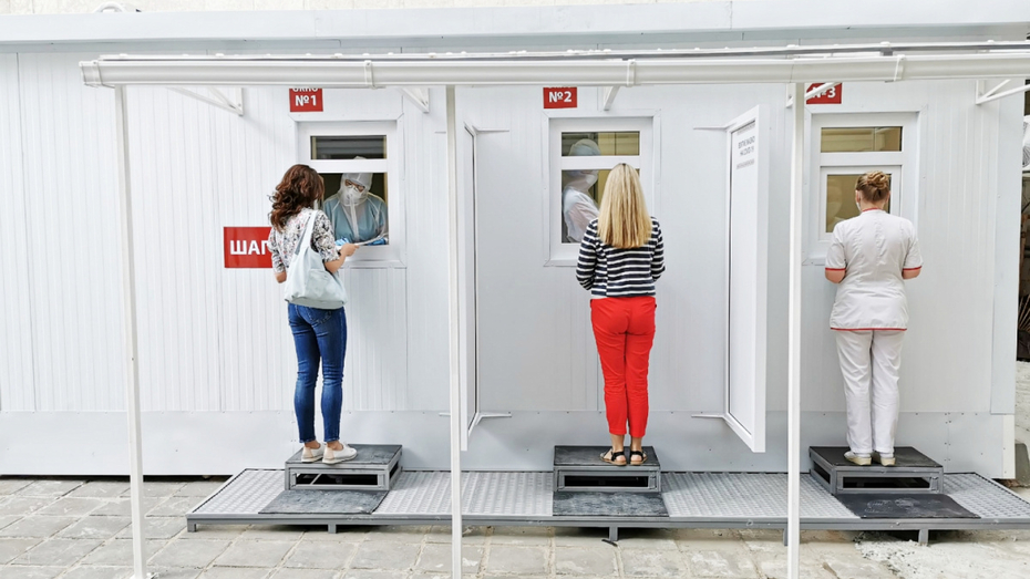 В диагностическом центре Воронежа на COVID-19 теперь тестируют на улице