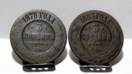 Таловский краевед нашел монету времен Александра II в Каменной степи