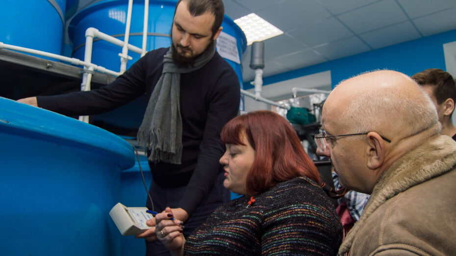 У воронежских студентов-инженеров появилась установка по выращиванию форели