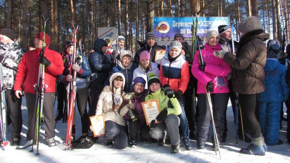 Поворинцы стали победителями лыжных гонок в Лисках