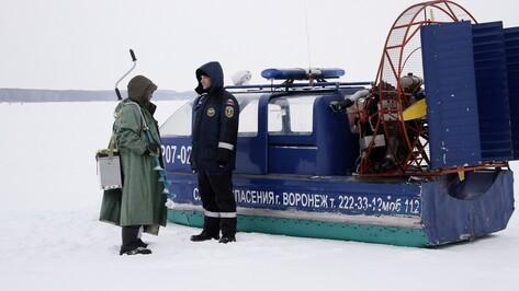 Репортаж РИА «Воронеж». Как спасатели патрулируют водохранилище