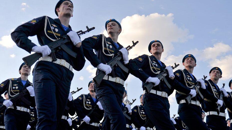 В Воронеже начался парад в честь 71-й годовщины Победы
