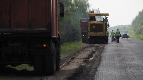 В районах Воронежской области отремонтируют 142 км дорог