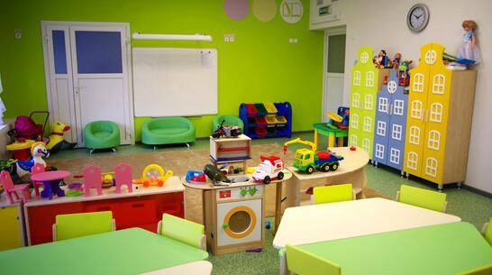 Детский сад с лифтом и кабинетом робототехники построили в Воронежской области