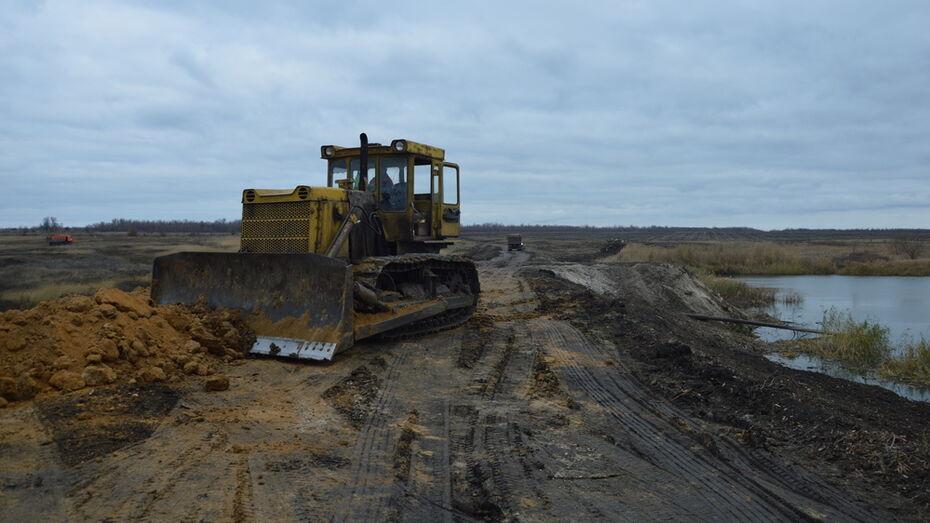 В Эртиле отремонтируют 2 плотины