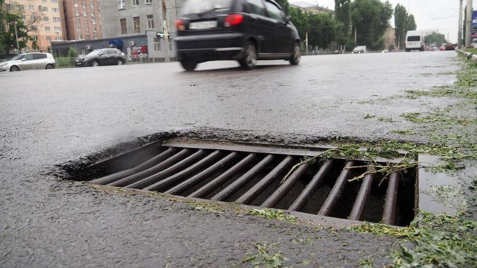 Власти Воронежа решили создать муниципальную программу по ремонту ливневок