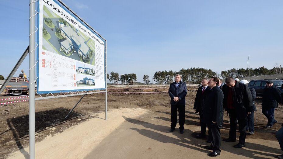 Крахмально-паточный завод под Воронежем откроется в 2015 году