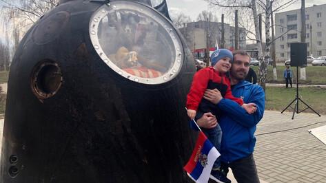 В Борисоглебске Воронежской области установили капсулу пилотируемого корабля «Союз ТМА-20М»