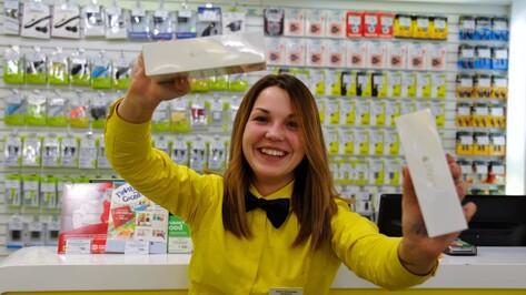 Рынок смартфонов и телефонов просел в Воронеже на 10 %