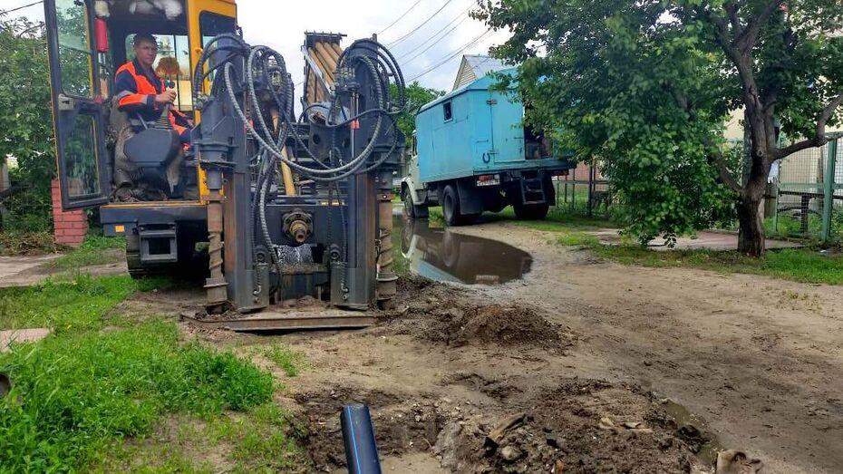 «РВК-Воронеж» заменит изношенные сети сразу на 9 улицах города