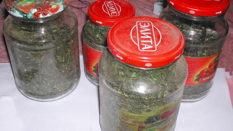 У жителя Петропавловского района полиция нашла 1,5 кг марихуаны