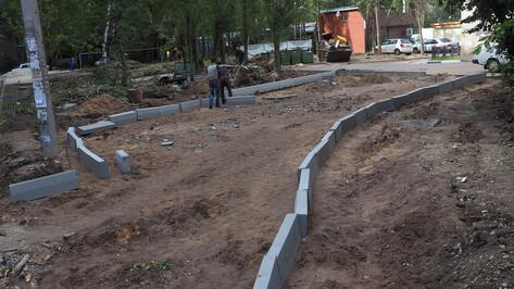 Мэрия Воронежа назвала 68 дворов, которые благоустроят в 2020 году