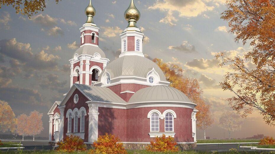 В хохольском селе построят новый храм