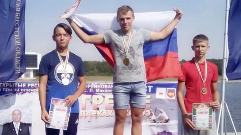 Рамонские кадеты выиграли международные соревнования по гребле