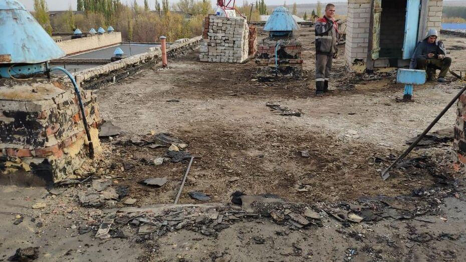 Протекающую крышу отремонтируют в Гришевской школе Подгоренского района