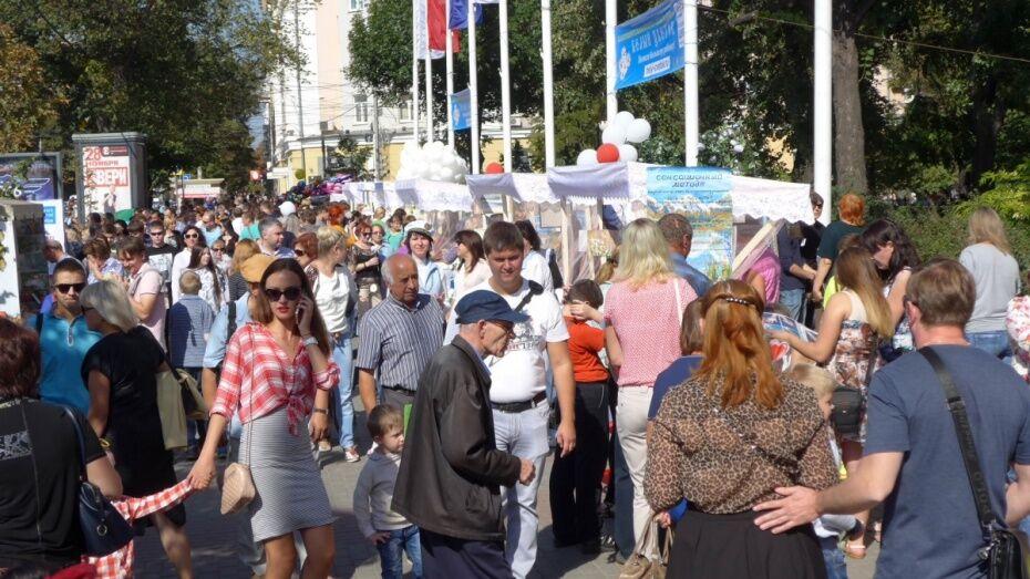 Власти запланировали 142 праздничных акции ко Дню города в Воронеже