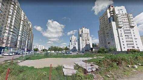 Дополнительные работы в сквере на улице Кропоткина в Воронеже оценили в 2,6 млн рублей