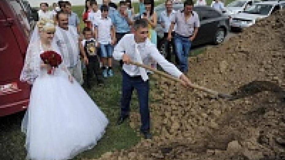 Фото РИА «Воронеж»: Деревенская свадьба
