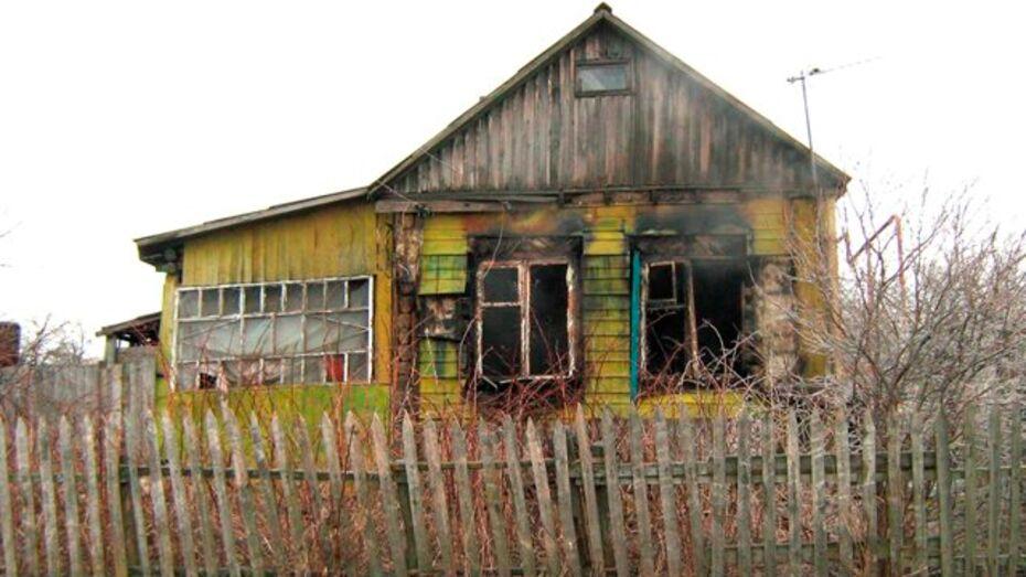 В Бутурлиновском районе в огне погибли люди