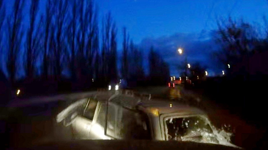 В сети появилось видео ДТП с тремя машинами в Воронеже