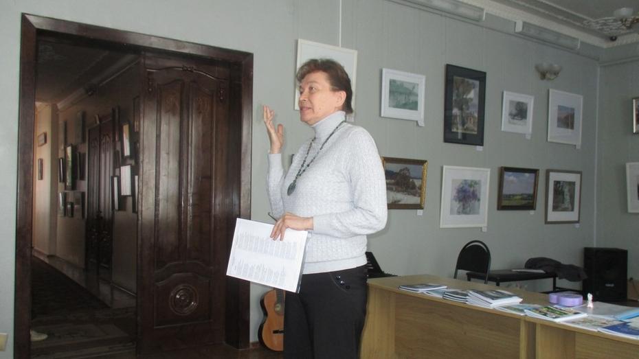 Лискинскую поэтессу приняли в Союз писателей России