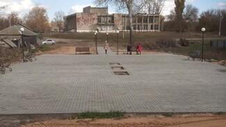 В петропавловском селе Березняги впервые появился сквер