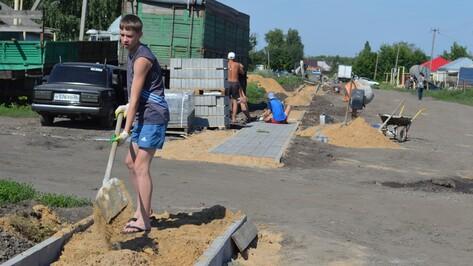 В новоусманском селе положат двухкилометровый тротуар