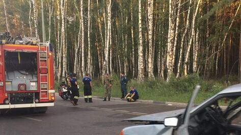 В Воронеже в ДТП с тремя машинами погиб водитель «ВАЗа»