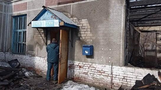 Почта сгорела в терновском селе Поповка