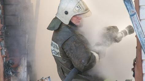 Под Воронежем в горящем доме погиб 57-летний хозяин