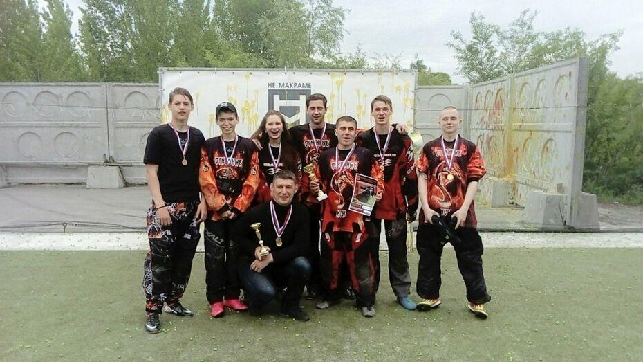 Лискинские пейнтболисты завоевали первое место в областных соревнованиях