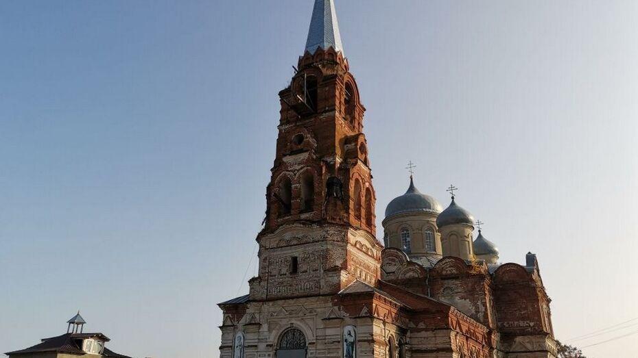 Жителей Грибановского района попросили помочь сельскому храму Михаила Архангела