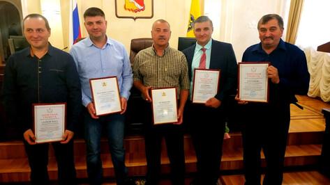 Правительство и мэрия наградили сотрудников «РВК-Воронеж»