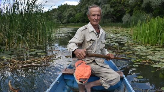 Поворинские энтузиасты расчистили заболоченный участок реки Хопер