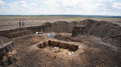 Захоронение скифского воина обнаружили археологи в Воронежской области