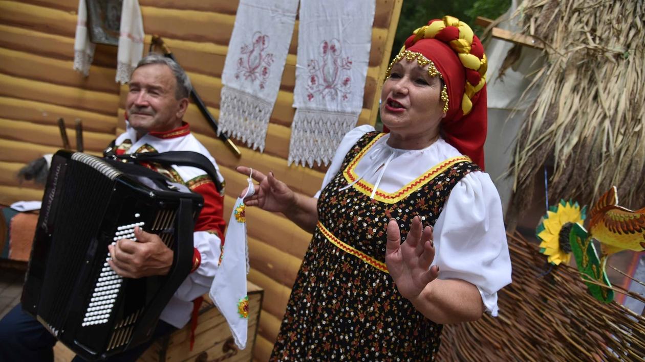 Крестьянский быт и забытая музыка. Как прошел фестиваль «Воронеж фольклорный»