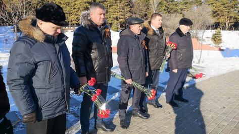 Команда ДСК поучаствовала в памятных мероприятиях в канун Дня освобождения Воронежа