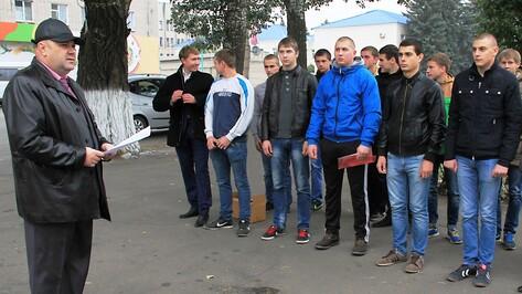 В Аннинском районе прошел День призывника